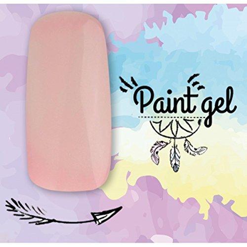 Paint Gel – Gel UV para decoración de uñas, 5 ml – Piel nº2: Amazon.es: Belleza