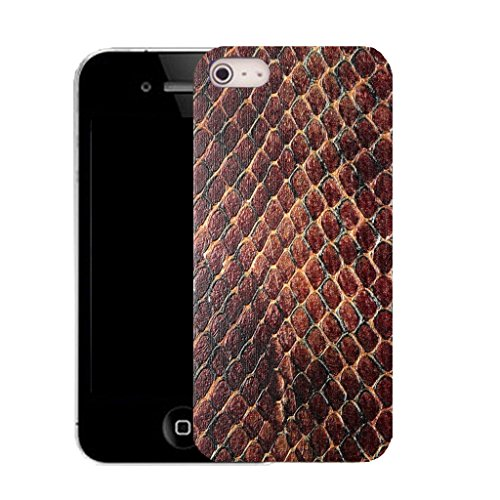 Mobile Case Mate IPhone 5 clip on Silicone Coque couverture case cover Pare-chocs + STYLET - animal skin pattern (SILICON)