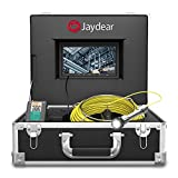 """Pipe Inspection Camera,65ft/20M Sewer Camera 7""""HD"""