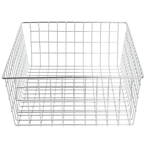 - Bagel Basket Rectangular Chrome Plated Wire- 14 5/16 L x 20 1/4 W x 6 1/8 H