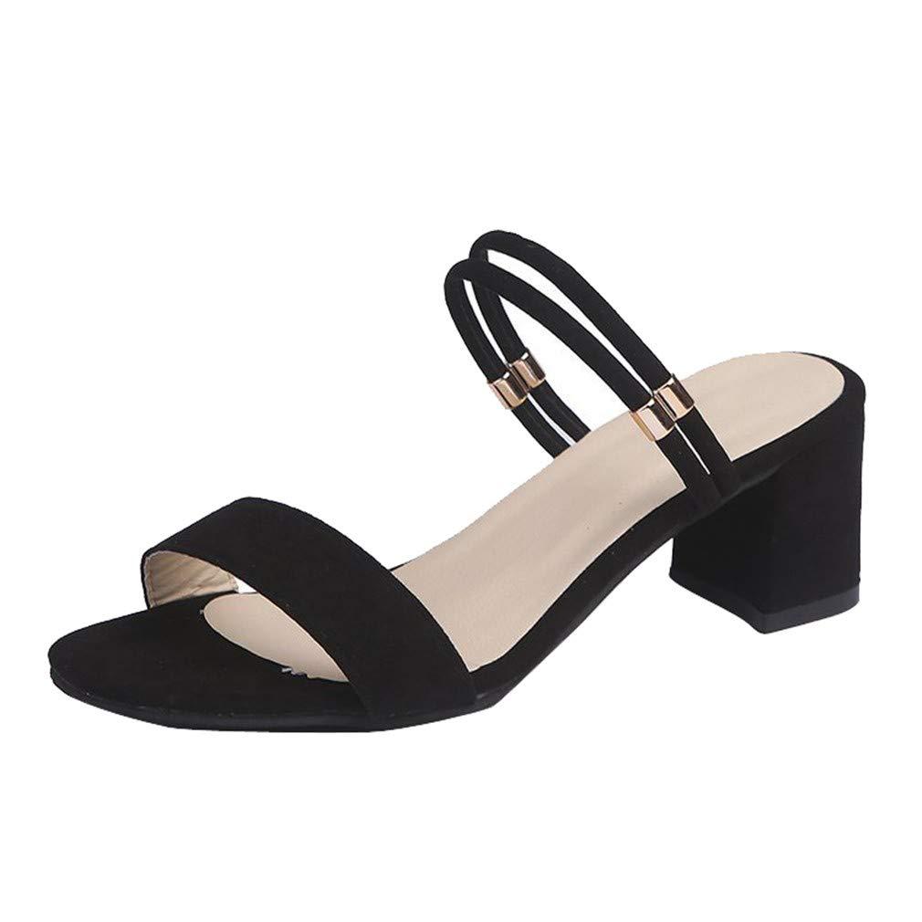 YUCH Chaussures pour Femmes Froides Épaisses avec Chaussures des en Pantoufles Froides en Été Black 843e890 - piero.space