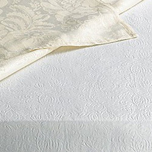 Home Bargains Plus Quilted Heavy Duty Table Pad Protector With Flannel Backing - Cut To Fit - 60'' Wide x 120'' Long