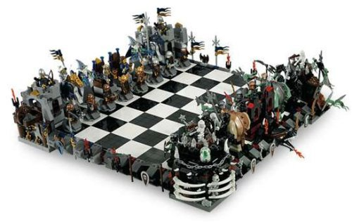 Lego Castle Set #852293 GIANT Chess Set (Lego Chess Set)