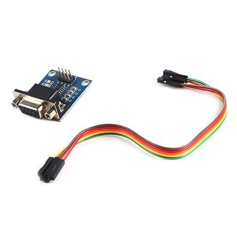 WEIHAN RS232 a TTL Módulo convertidor COM Tarjeta de Puerto ...