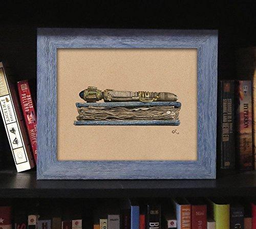Doctor Who Art Decor Framed River Song Themed Print