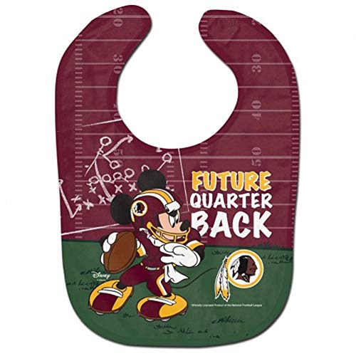 - WinCraft NFL Washington Redskins Baby BibAll Pro Style Baby Bib, Team Colors, One Size