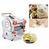 electric dumpling maker - JIAN YA NA 110V 750W Electric Pasta Press Maker Noodle Machine Dumpling Skin Home Commercial