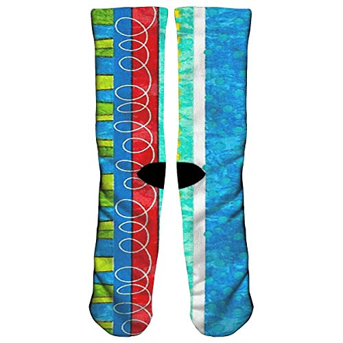OPPORIYU Bug's Life Funky Stripe Athletic Sports Socks,Travel & Flight Socks,Painting Art Printed Funny Socks.
