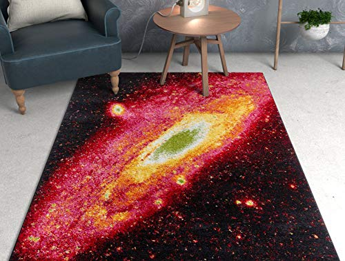 Well Woven VI113-7 Viva Intergalactic Modern Space Orbit Multi Bright Area Rug 7'10