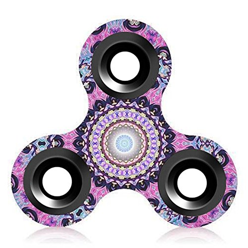 Price comparison product image Tri-Spinner Fidget Toy Hand Spinner Camouflage, Elaco Stress Reducer Relieve Anxiety Toy (G)