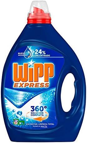 Wipp Express Detergente Líquido Azul - 31 Lavados (1.55 l): Amazon ...