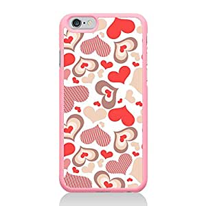 Call Candy Hearts para Apple iPhone 6/6S - rosa