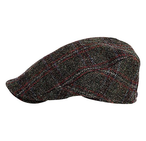 Hanna Hats of Donegal.Irish Flat Cap.Donegal Tweed. Brad Pitt  Style.The   Grafton Street  Cap at Amazon Men s Clothing store  9b1fdc35882