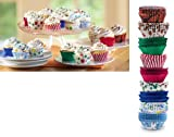 Multicolor Designer Cupcake Wrappers, 300Pc