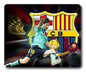 customizeed lionel messi barcelona square mouse pads , office mousepads