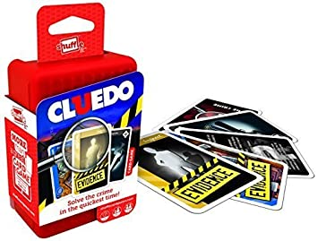 Shuffle Cluedo Card Game by Shuffle: Amazon.es: Juguetes y ...