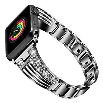 Amazon.com: Bling - Correa de repuesto para Apple Watch ...