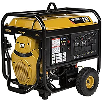 generator. RP12000E 12000 Running Watts/15000 Starting Watts Gas Powered Portable Generator 502-3699 Q