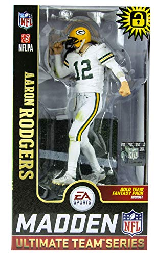 McFarlane Aaron Rodgers (Green Bay Packers) EA Sports Madden NFL 19 Ultimate Team Series 1