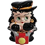 Westland Giftware Ceramic Cookie Jar, Biker Betty, Multicolor