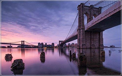 New-York-USA-Brooklyn-Bridge Postcard Post card