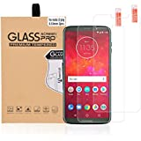 Abacus24-7 Screen Protector for Motorola Moto Z3 Play - Tempered Glass, 9H, 0.33mm [2-PACK]