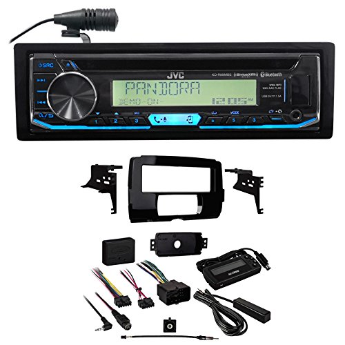 JVC Bluetooth CD Player Receiver+Full Install Kit for 2014-2