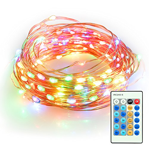 TaoTronics Multicolor Dimmable 100 LED String Lights, 33 Feet - Import It All
