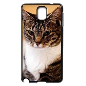 HOPPYS American Short Hair Cat Phone Case For Samsung Galaxy note 3 N9000 [Pattern-2]