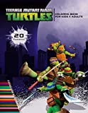 TEENAGE MUTANT NINJA TURTLES coloring book for kids & adults: color 20 illustrations of your favourite characters from TMNT (leonardo, Raphael, Michelangelo, Donatello and others)