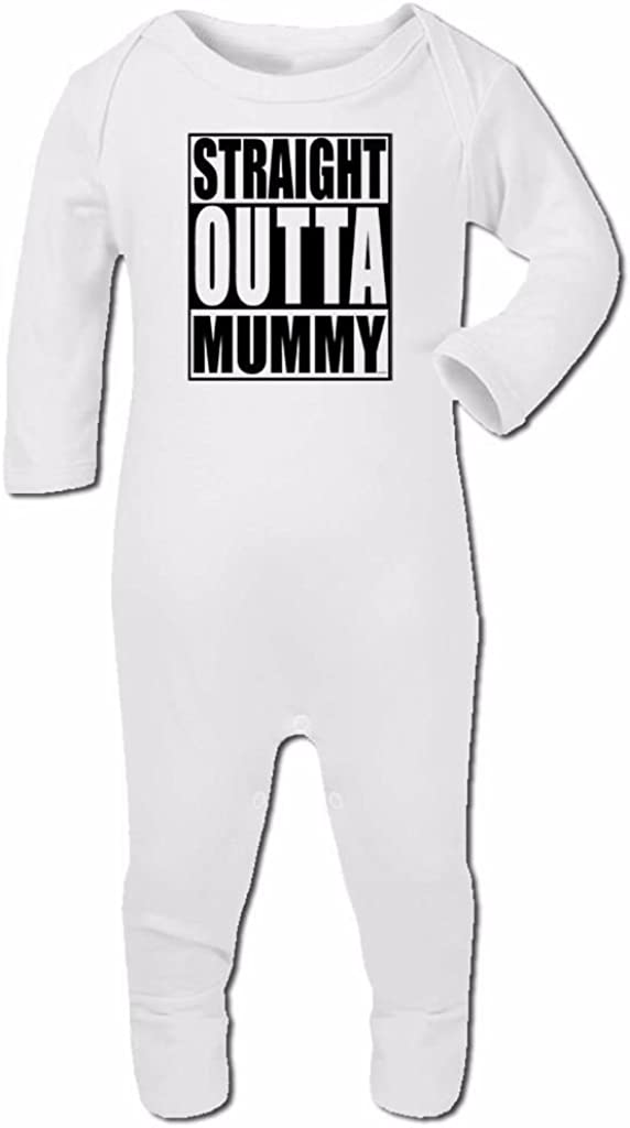 Bang Tidy Clothing Baby Romper Suit Boy Girl One Piece Straight Outta Tha Oven#1
