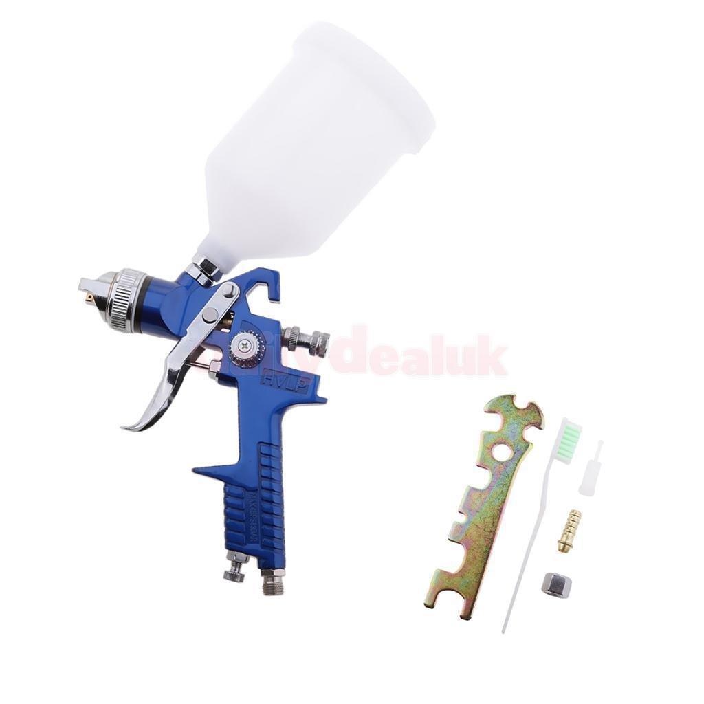 FidgetFidget Air Spray Paint Gun Car Auto Gravity and 1.7mm Nozzle 600ml Cup Capacity Kit by FidgetFidget (Image #4)