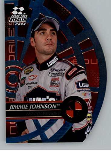 2004 Press Pass Stealth No Boundaries #NB15 Jimmie Johnson NM-MT