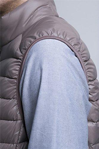 Camel Légère Zipée Manteau Pour Acmede Pliable Doudoune Sans Veste Ultra Chaude D'hiver Homme Gilet Manches Duvet 4wZTHqp