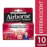 Airborne Very Berry Effervescent Tablets, 10 count - 1000mg of Vitamin C - Immune Support Supplement