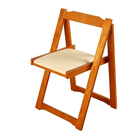 Folding chair Lil Silla de Comedor Plegable de Madera con ...