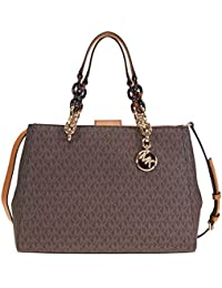 Michael Kors Cynthia Medium Leather Satchel