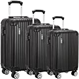 Best Luggages - Luggage set Suitcase ABS 3 Piece with TSA Review