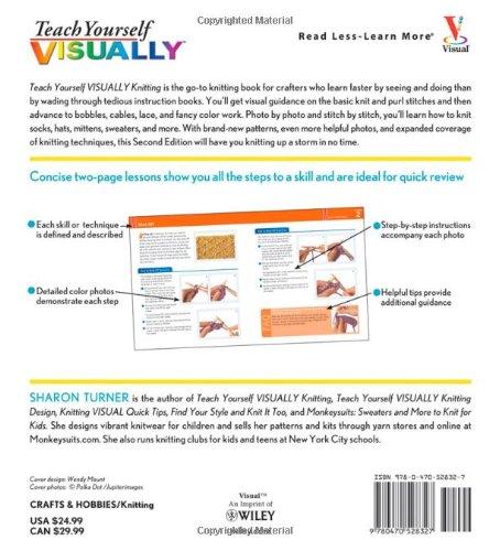 Teach Yourself Visually Knitting Sharon Turner 9780470528327