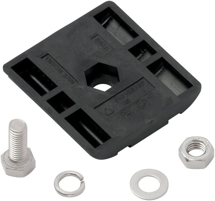 Rola 59903 Replacement Part 1 Flat Washer M8, Hex Bolt M8-1.25 x 20mm 1 Clamp Block, Lock Washer M8 /& 1 Hex Nut M8-1.25, Includes: 1 1 APE Series Crossbar Hardware