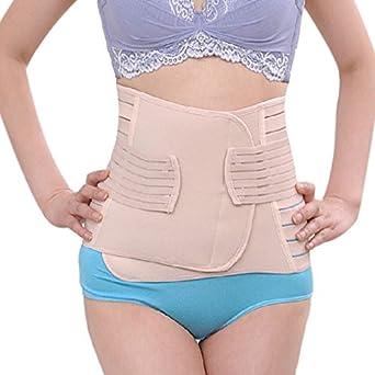 f54448f8d3 GSEVENTY0NE L  Slimming Belt Waist Corset Women Body Shaper Tummy Control  Underwear Hot Shapers Breathable Slim Shapewear Waist Trainer  Amazon.in   Clothing ...
