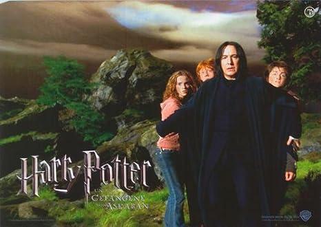 Amazon.com: Harry Potter y el prisionero de Azkaban Póster ...
