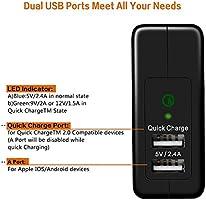 Cargador USB Omaker Qualcomm carga rápida 2.0 USB certificado ...