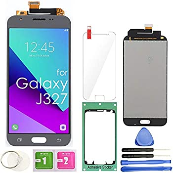 Amazon com: for Samsung Galaxy J3 Screen Replacement, Sunmall Front
