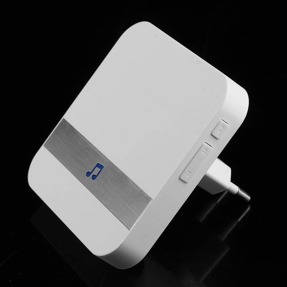 Asiproper Anytek B10 AC 90 V-250 V 52 Chimes Wireless WiFi T/ürklingel Empf/änger Eu-stecker