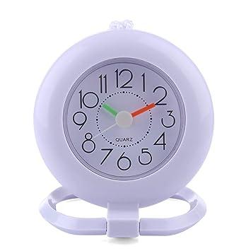 OIURV - Horloge Salle de Bains - Horloge Murale silencieuse pour la ...