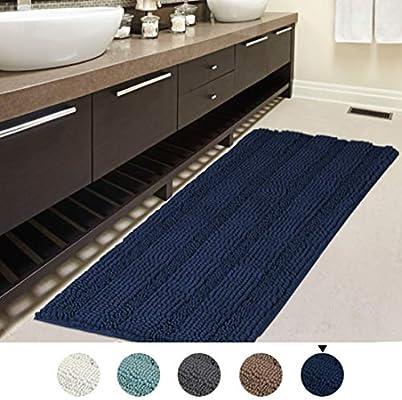 Amazon Com H Versailtex 47x17 Inch Oversize Non Slip Bathroom Rug