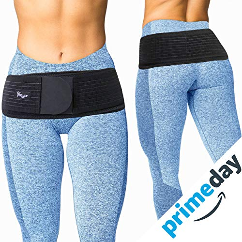 - Posture Magic Sacroiliac SI Joint Support Belt for Women and Men - Reduce Sciatic, Pelvic, Lower Back and Leg Pain - Stabilize SI Joint - Hip Size Up to 45