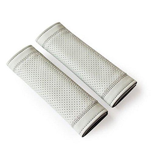 Encell PU Car Seat Belt Cover Shoulder Pad,Gray
