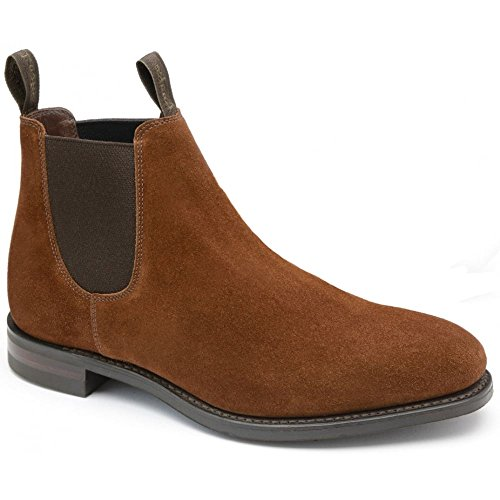 Loake Chatterley Ladies Brown Suede Chelsea Boots Brown UxpH0BIIy